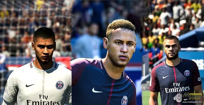 پک پی اس جی FIFA18 - دانلود فیس پک PSG برای FIFA18 توسط KEPROFIFA
