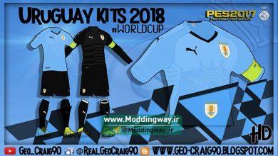پک PES2018 برای جام جهانی 390x220 - کیت پک جام جهانی 2018 برای PES17/18 توسط Geo_Craig90 - ورژن 1