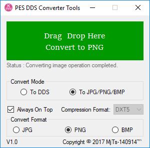 دانلود تبدیل فرمت DDS برای PES (نسخه 1.1 اضافه شد)