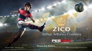 PES18 Zico Flamengo Startscreen Menu Update V2 by ABW 300x169 - دانلود پک استارت اسکرین برای PES2018