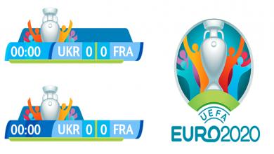 PES2018 Fantasy UEFA EURO 2020 Scoreboard by Algis 390x220 - اسکوربورد یورو 2020 برای PES2017 توسط Algis (فانتزی)