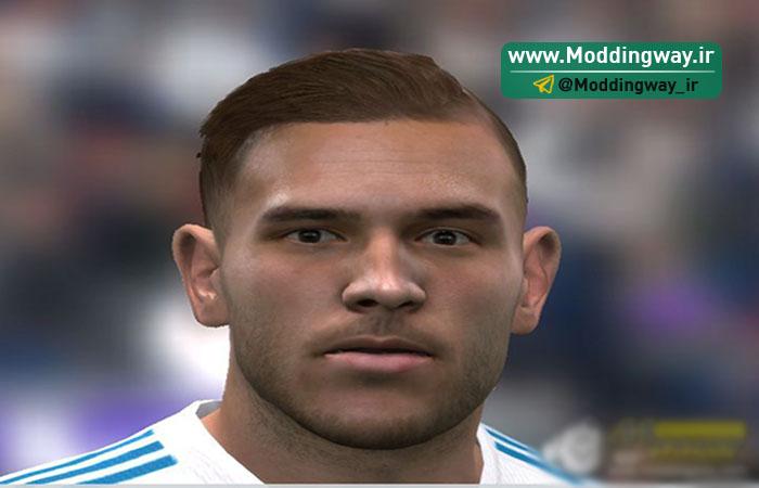 دانلود فیس Theo Hernández برای FIFA14