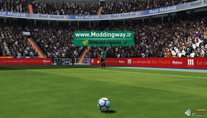 دانلود آپدیت استادیوم سانتیاگو برنابئو برای FIFA14