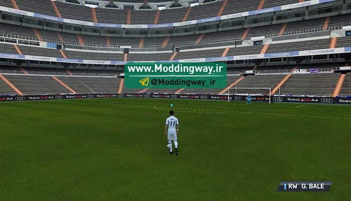 دانلود استادیوم تمرینی Santiago Bernabeo برای fifa14