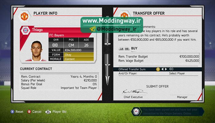 big 2 3 - دانلود مود فوق العاده واقعی تر شدن کریر منیجر برای FIFA14