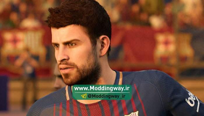 big 4 3 - دانلود فیس پک فوق العاده برای FIFA18