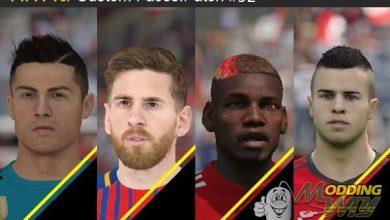 پک فیفا 15 390x220 - دانلود Face Pack 92 برای FIFA15 (تبدیلی از FIFA18)