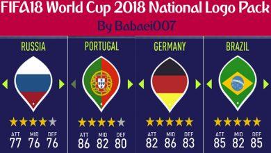 پک جام جهانی روسیه برای FIFA18 390x220 - دانلود لوگو پک جام جهانی 2018 برای FIFA 18