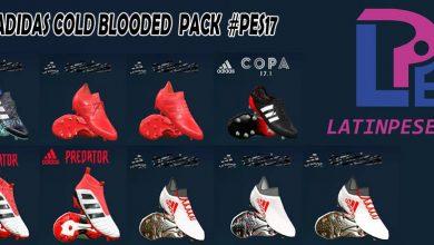 26805115 1985778308342549 4588580210169836607 n 390x220 - بوت پک Adidas Cold Blooded برای PES 2017 توسط LPE
