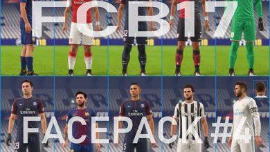 FIFA18 FacePack V4 by Kenan AZE 390x220 - دانلود فیس پک برای FIFA18 توسط FCB17 (ورژن 1 تا 4 افزوده شد)