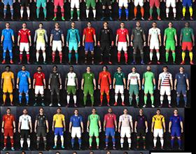 PE 2017 National Teams Kits 2018 1 280x220 - کیت پک تیم های ملی برای PES 2017 (فصل 2018)