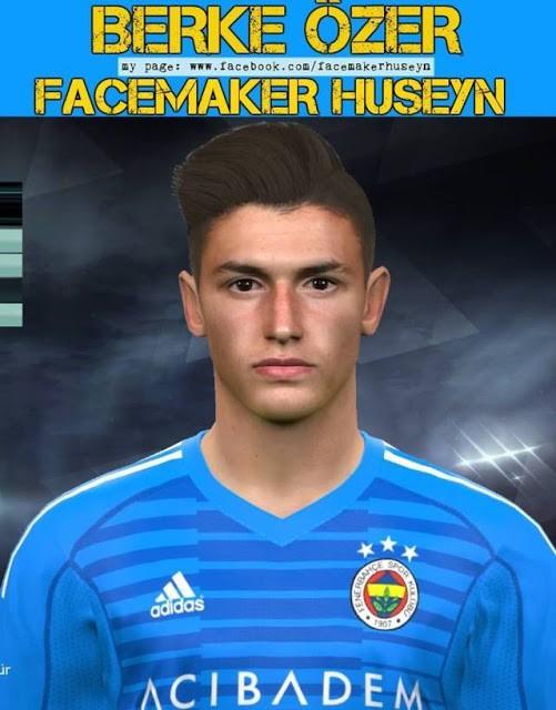 دانلود فیس Berke Ozer برای PES 2017 توسط Huseyn