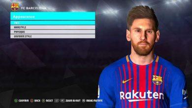 PES 2017 Face Lionel Messi Barcelona  390x220 - دانلود فیس لیونل مسی با ریش 3D برای PES 2017