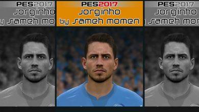 PES 2017 Jorginho Face 390x220 - دانلود فیس جورجینیو ناپولی برای PES 2017