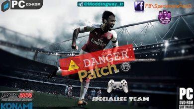 PES 2013 Danger Patch v2 390x220 - دانلود پچ Danger Patch V2 برای PES 2013 (فصل 2018)