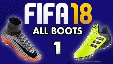 کفش های فیفا18 390x220 - دانلود مود باز کردن قفل کفش های FIFA18 در PC (ورژن جدید)