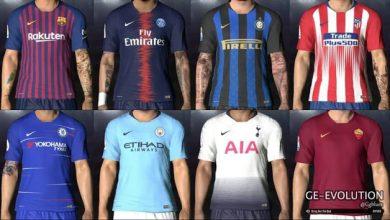 Nike Home Kits 2018 19 Leaked for PES 2017  390x220 - کیت پک فصل 2018/2019 برای PES 2017