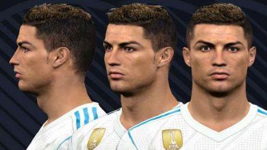 PES 2017 NEW Cristiano Ronaldo Face  390x220 - دانلود فیس و موی جدید رونالدو برای PES 2017 (مدل جدید)