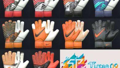 PES 2017 PES 2018 Glove Pack AIO  390x220 - پک دستکش دستکش دروازبان برای PES 2018 / 2017