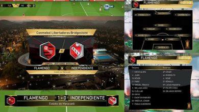 PES 2018 Libertadores Scoreboard Graphics  390x220 - اسکوربورد Libertadores برای PES 2018 + گرافیک