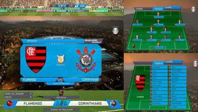 pes 2018 scoreboard globo 390x220 - دانلود اسکوربورد Scoreboard Globo V2 برای PES2018