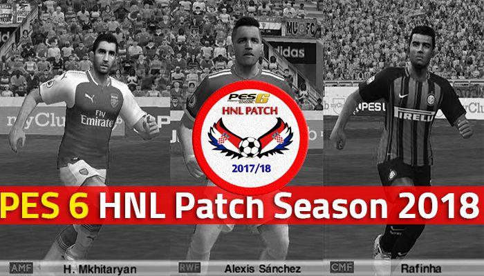دانلود پچ PES 6 NHL Patch (نیم فصل دوم 2018)