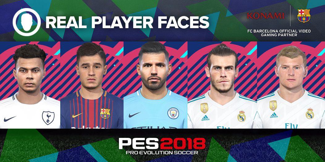 فیس پک PES 2018 Facepack Vol 3 توسط Denis