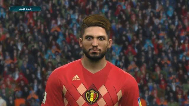 دانلود فیس Mertens برای PES 2017 (جام جهانی 2018)