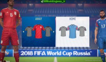 دانلود DLC جام جهانی + آپدیت 11.1 برای FIFA 18