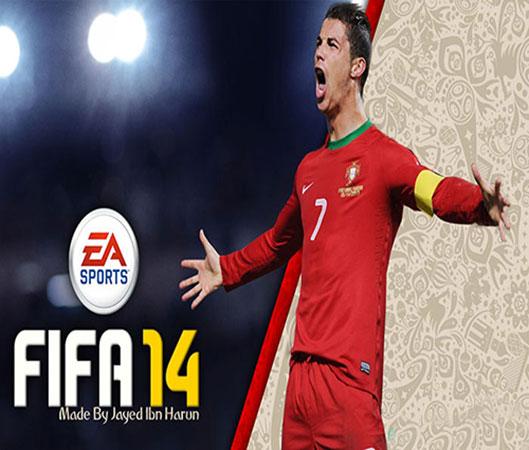 دانلود استارت اسکرین جدید رونالدو برای FIFA14
