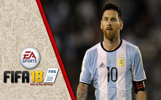 دانلود استارت اسکرین لیونل مسی برای FIFA18