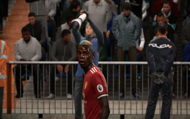 دانلود فیس جدید پوگبا برای بازی FIFA18