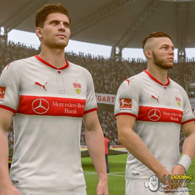 دانلود کیت فصل 2018/2019 VfB Stuttgart برای FIFA18