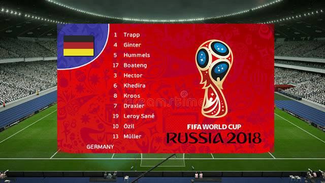 اسکوربورد جام جهانی 2018 برای PES 2013
