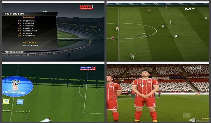 دانلود پک لوگو تلویزیونی برای FIFA 18