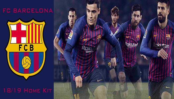 دانلود کیت فصل 2018/2019 بارسلونا برای FIFA18