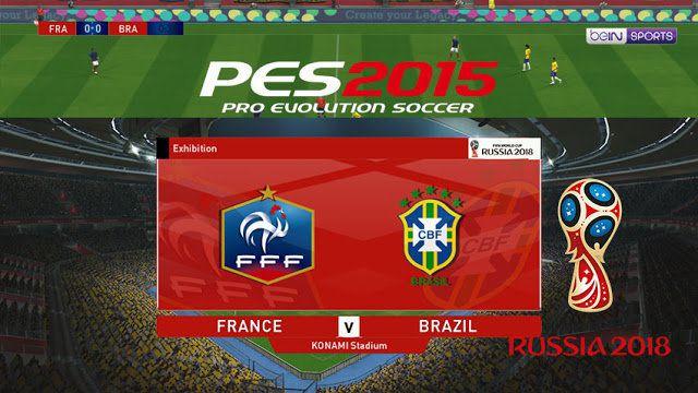 اسکوربورد جام جهانی 2018 برای PES 2015