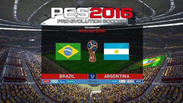 اسکوربورد جام جهانی 2018 برای PES 2016