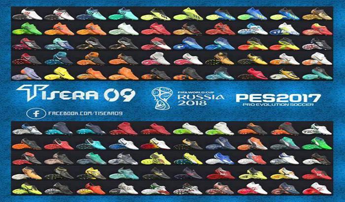بوت پک جام جهانی روسیه برای PES 2017 توسط Tisera09