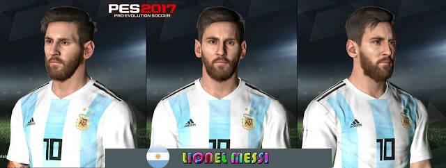 فیس Lionael Messi در جام جهانی برای PES 2017