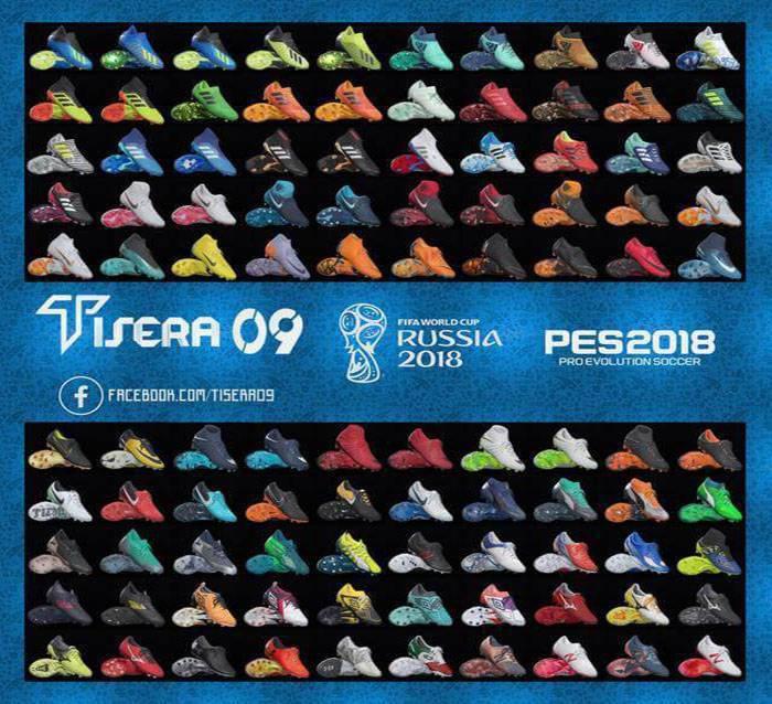 بوت پک جام جهانی روسیه برای PES 2018 توسط Tisera09