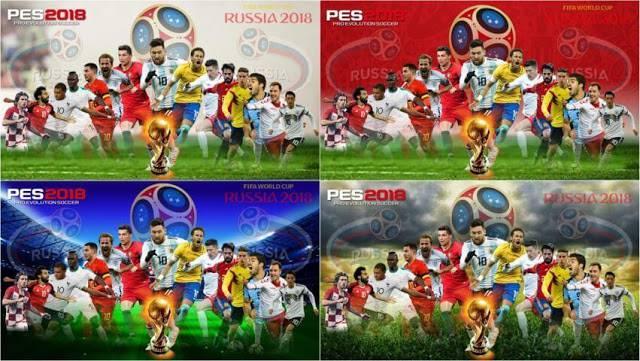 استارت اسکرین پک جام جهانی برای PES 18