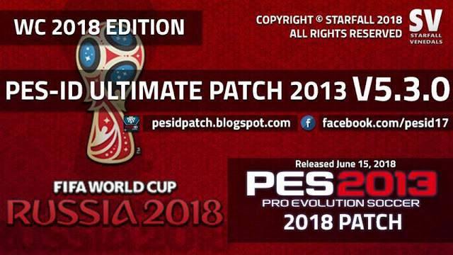 پچ PES-ID Ultimate V5.0 AIO برای PES2013 ( آپدیت 5.3 اضافه شد)