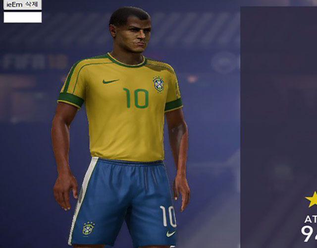 دانلود کیت فصل 1998 برزیل برای FIFA18