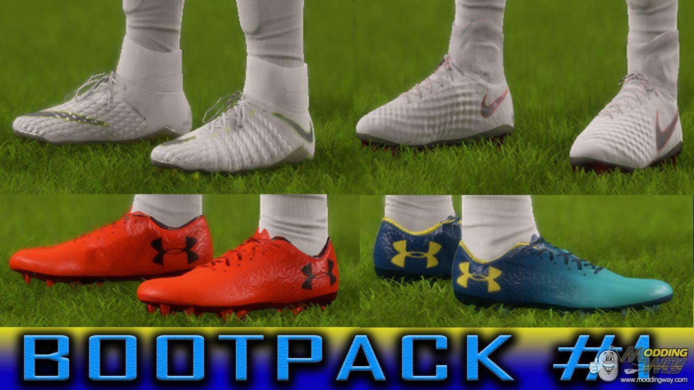 دانلود پک جدید کفش BOOTPACK #1 برای FIFA18