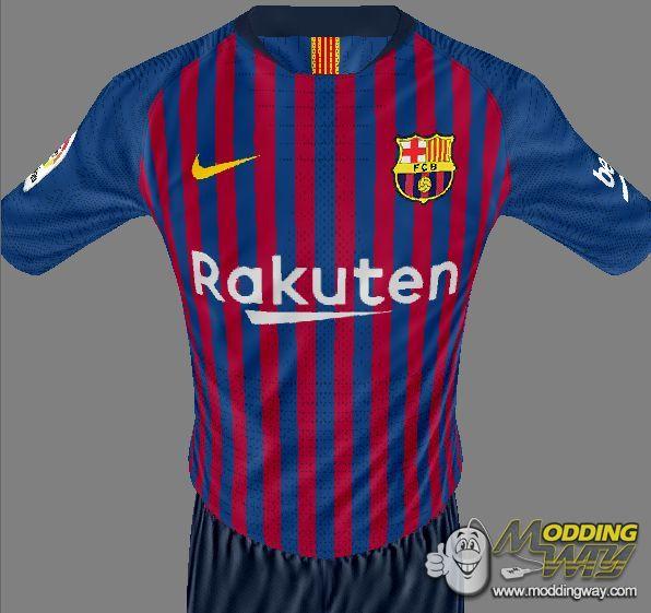 دانلود کیت فصل 2018/2019 بارسلونا برای FIFA16