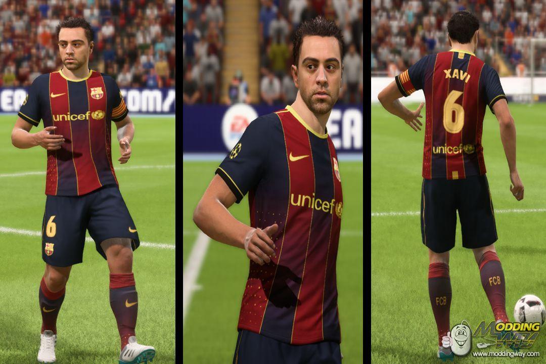 دانلود کیت فانتزی بارسلونا برای FIFA18