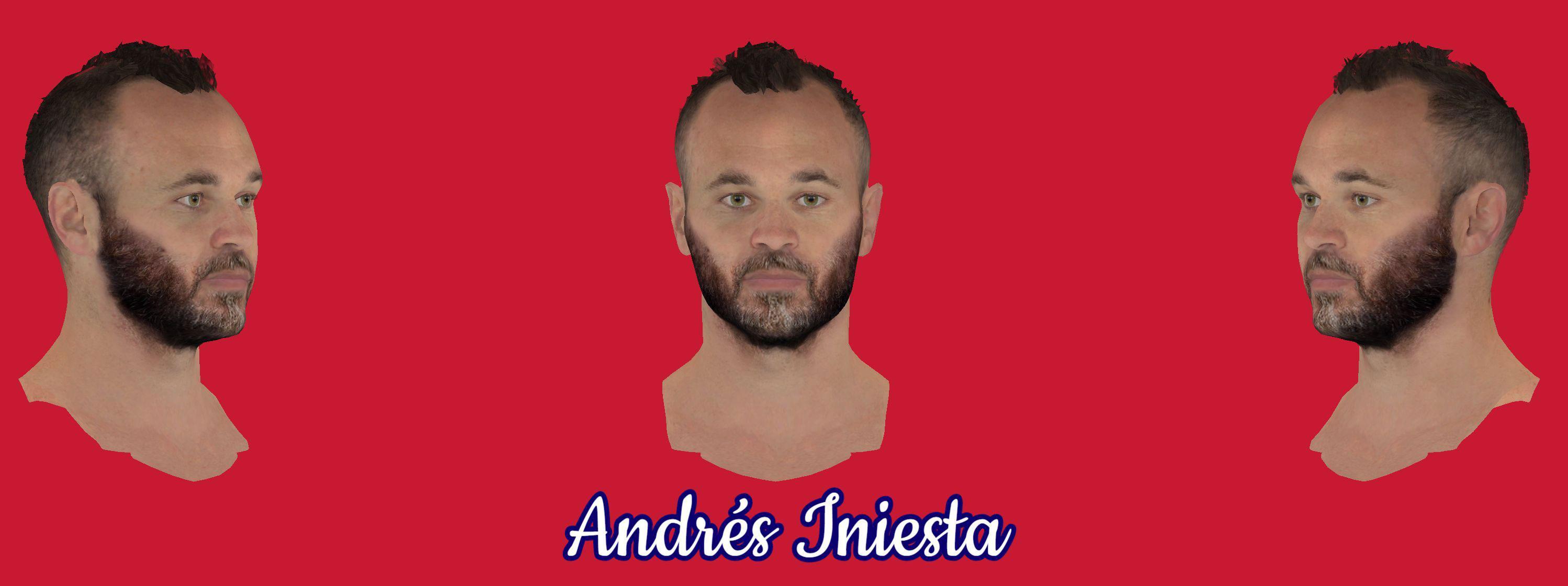 دانلود فیس فوقالعاده Iniesta برای FIFA14