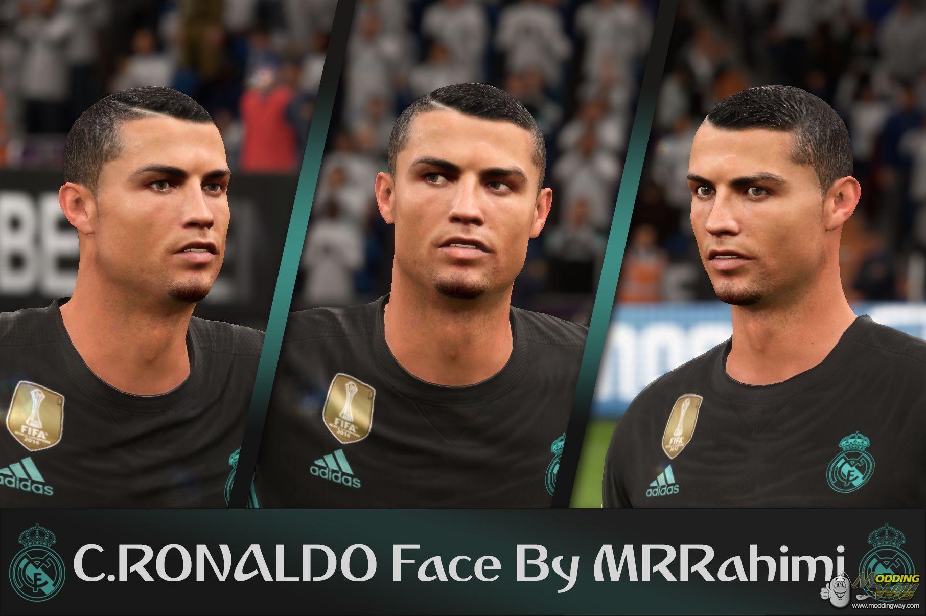 دانلود فیس جدید و فوقالعاده کریستیانو رونالدو برای FIFA18