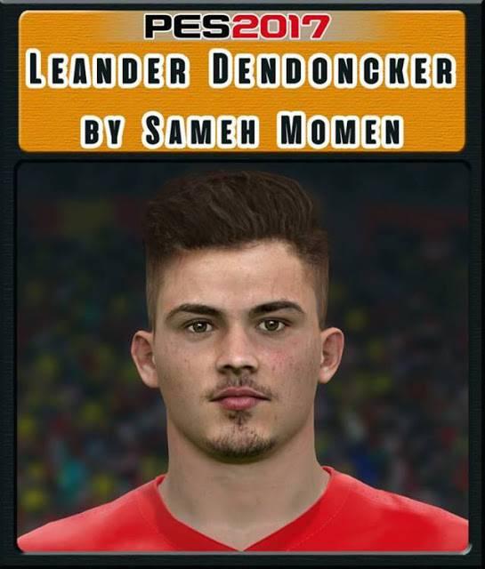 فیس Leander Dendoncker برای PES 2017 (مخصوص جام جهانی)